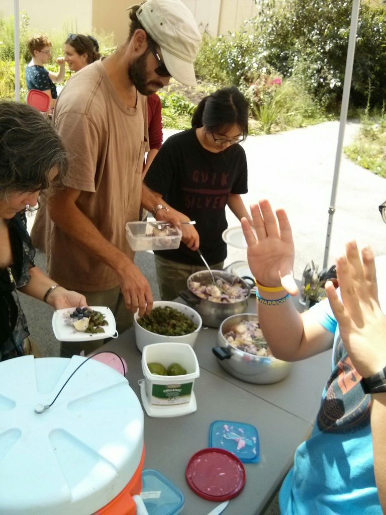 Community Eats lunch, made by SOYL 2 youth. So. Good.
